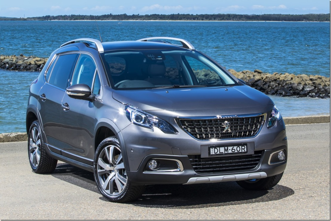 Peugeot's Plucky 2008 SUV gets a makeover