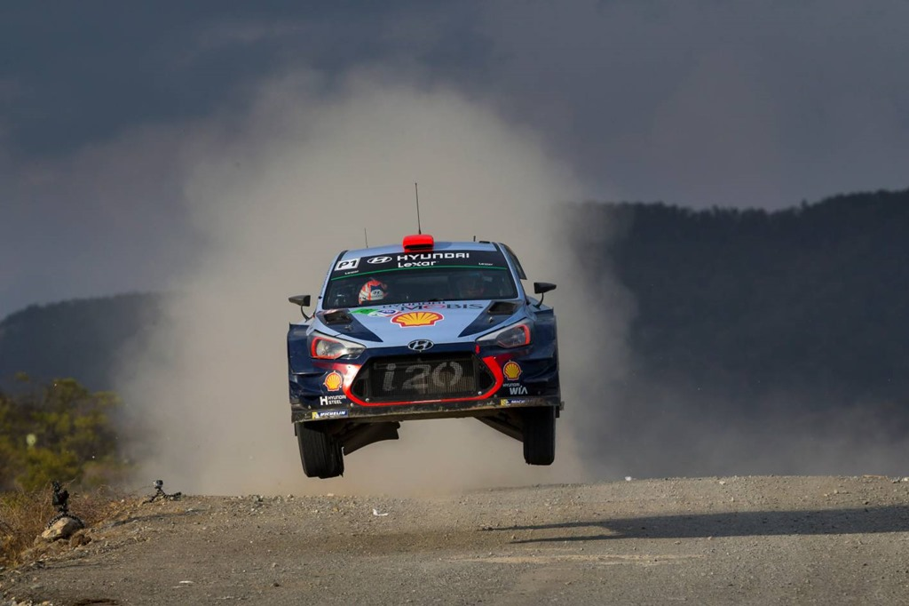 Hyundai Motorsport secures Mexican podium and Power Stage victory