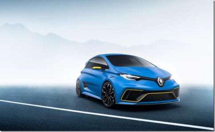 Renault ZOE e-sport electric car conceptGENEVA
