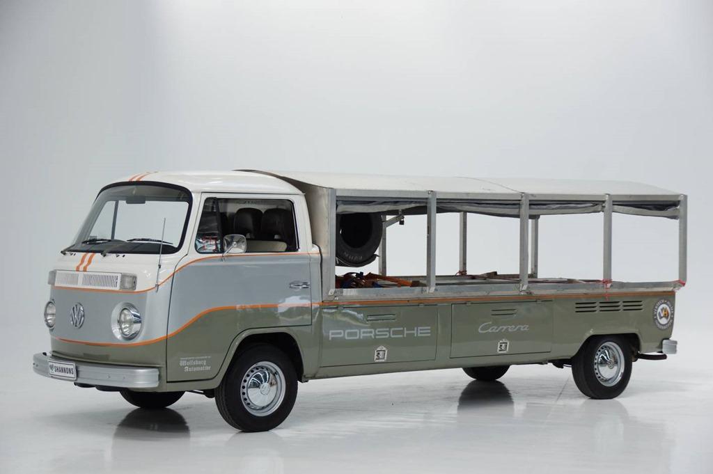 VW Kombis cross the Shannons salefloor