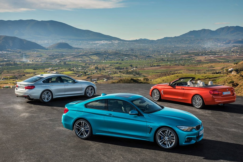 BMW 4 series gets upgrade specs