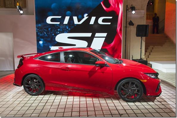 Honda's 2017 Civic SI CoupeReveal
