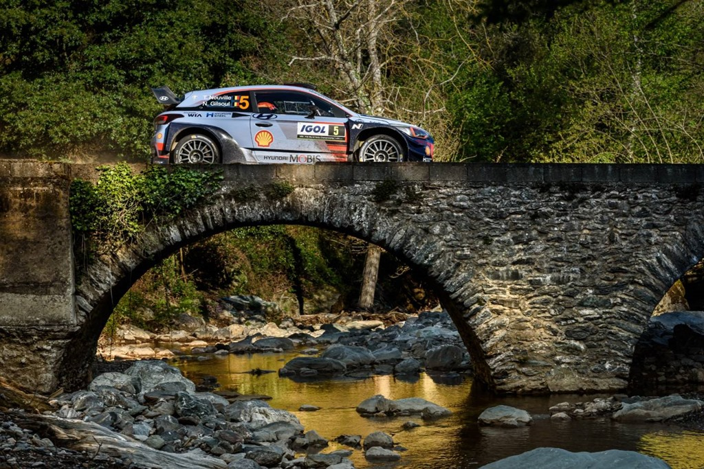 Hyundai Motorsport scores victory and double podium in Tour deCorse