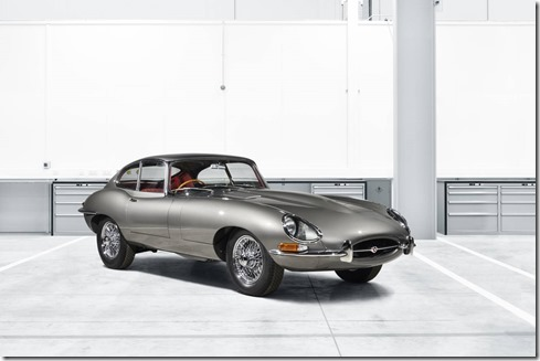 10 E-Type restored by Jaguar Land Rover Classic, A div of Special Operations