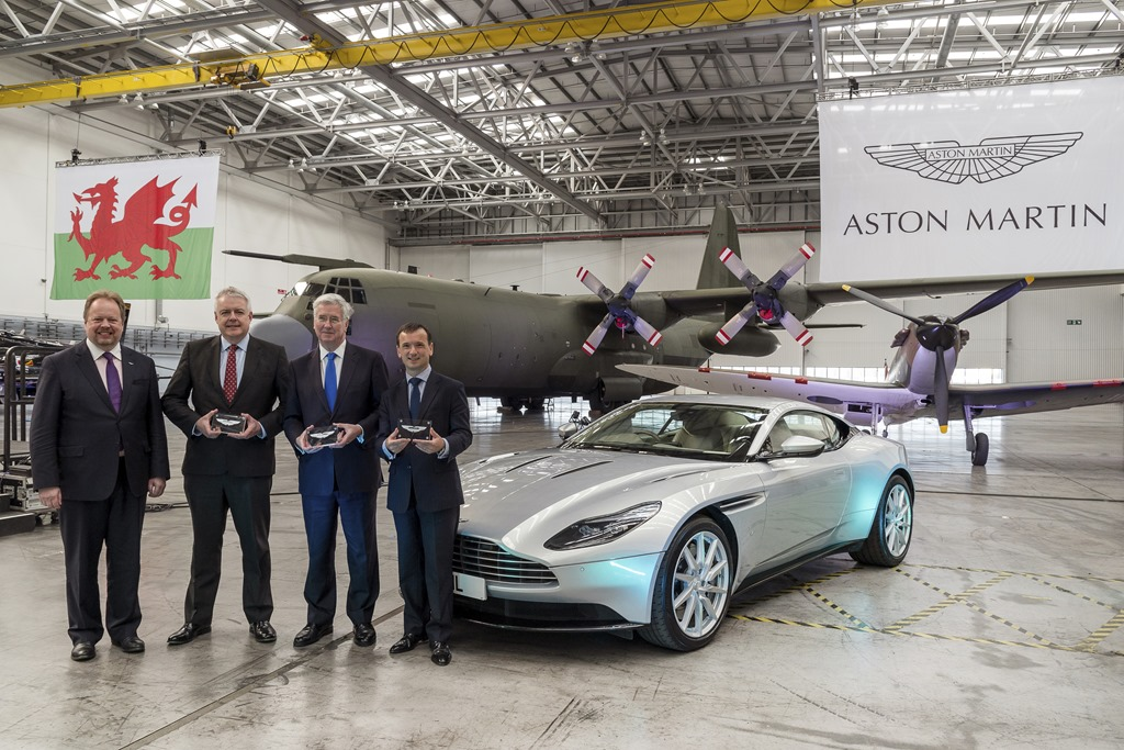 Aston Martin's St Althan facility gets SUV-ready makeover