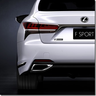 LEXUS will debut LS 500 F Sport at New York MotorShow