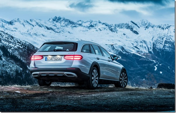 A Merc wagon with off-piste aspirations: E Class All Terrain