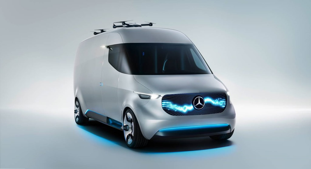 Vision Electric Van Mercedes-Benz