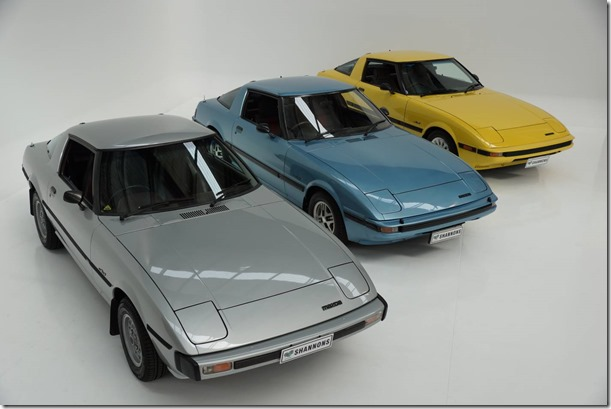 Series-I-II-and-II-Mazda-RX-7-Rotary-coupes