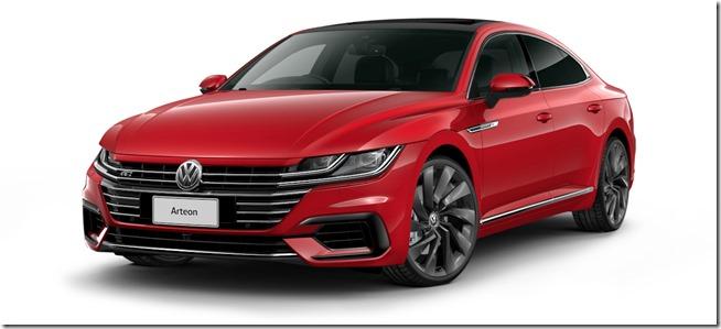 2017 Volkswagen Arteon 206TSIR-Line