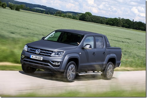 2017 Volkswagen Amarok Ultimate V6 with Matte paint