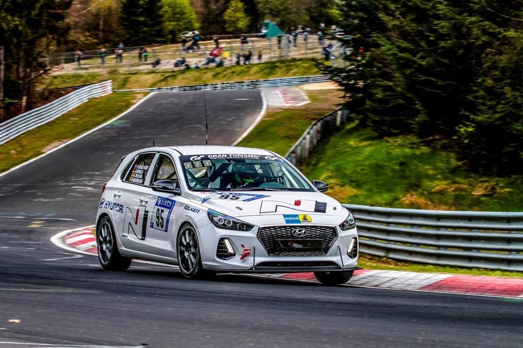 Hyundai's final test at Nürburgring: i30 N hothatch