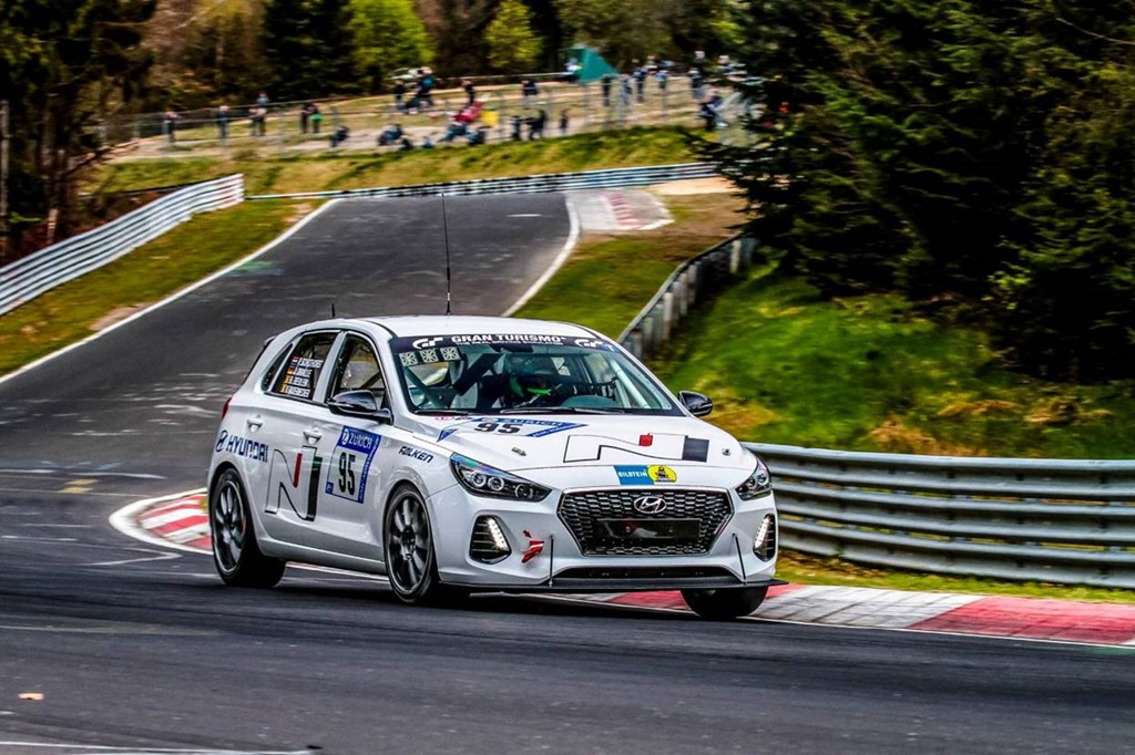 Hyundai's final test at Nürburgring: i30 N hot hatch