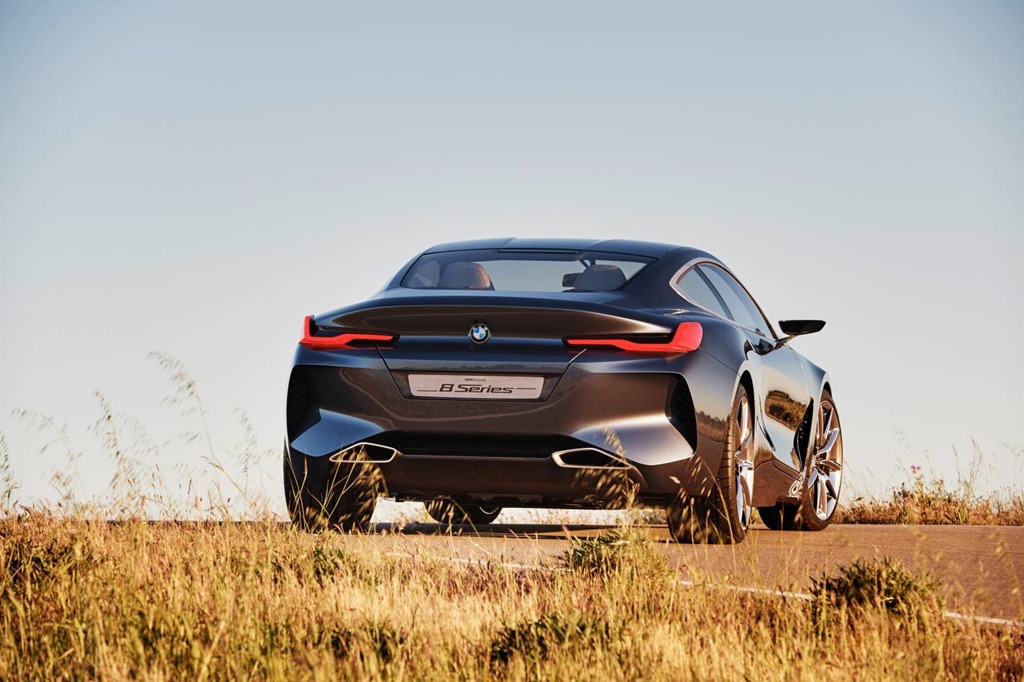BMW and the stunning 8 SeriesCoupe