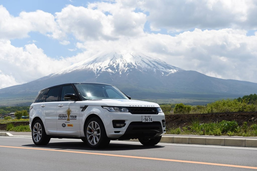 Land Rover Renews Worldwide Rugby World Cup Partnership to 2019