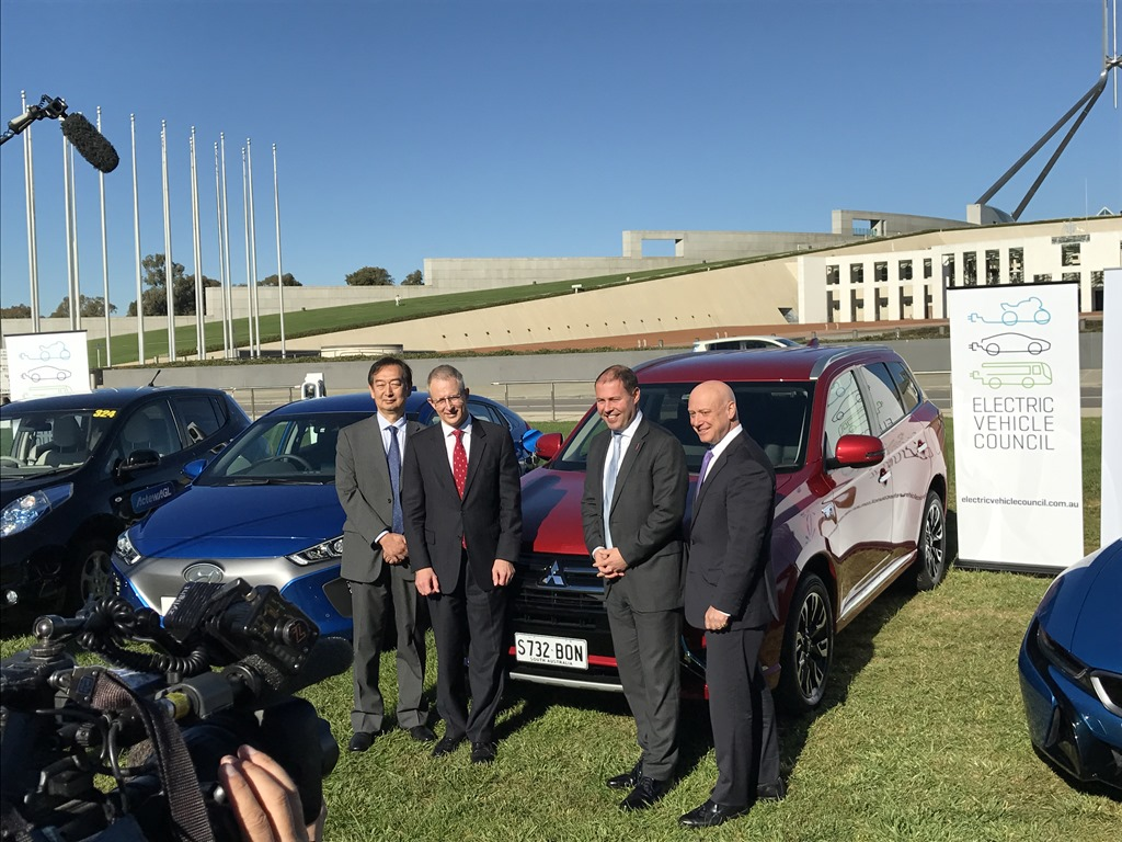 "Government announces support for electric vehicle ""revolution"""