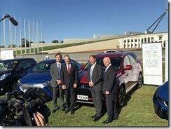 Mitsubishi- CEO- Mutsuhito- Oshikiri-and-AGL- Managing -Director- &-CEO-Andy-Vesey- AGL-vehicle-lobby-group-launch-1 (2)