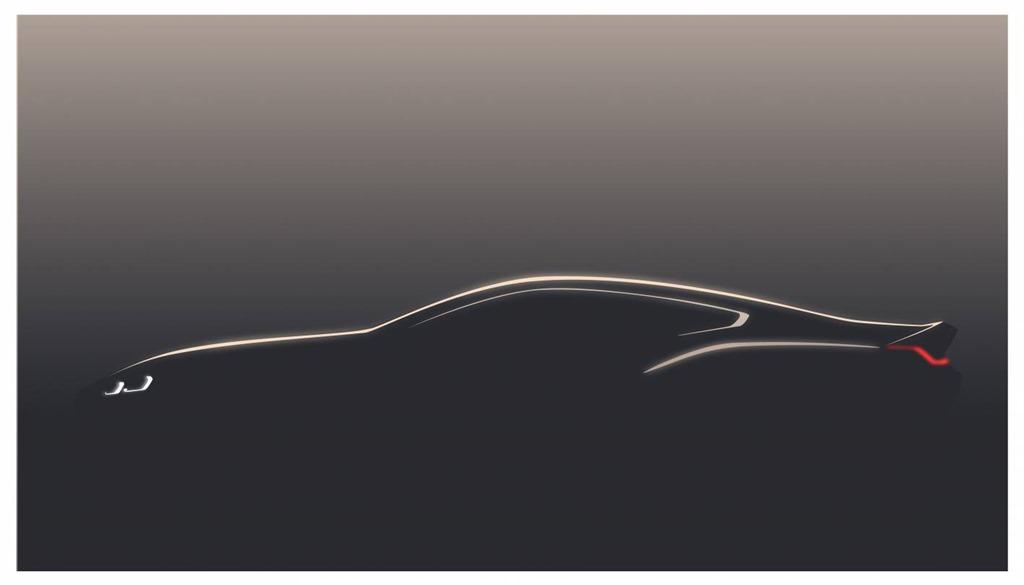 All-New BMW 8 Series teasershots