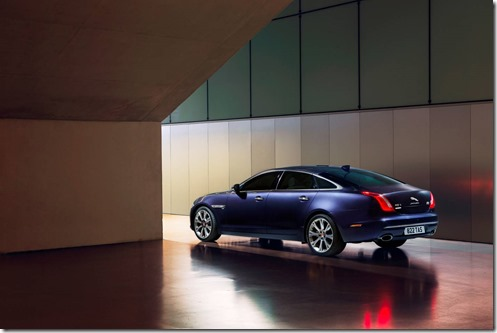 Jaguar's flagship, the leggy XJ Long Wheelbase AutoBiography goes to Canberra
