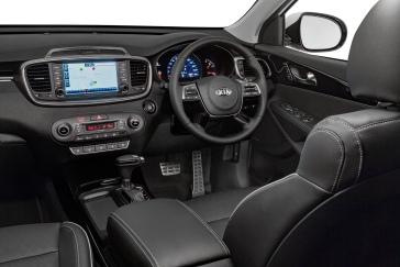 2018 Kia Sorento GT Interior.