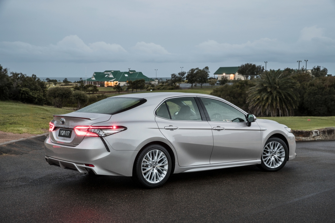 Toyota launches it's brand new Camry.
