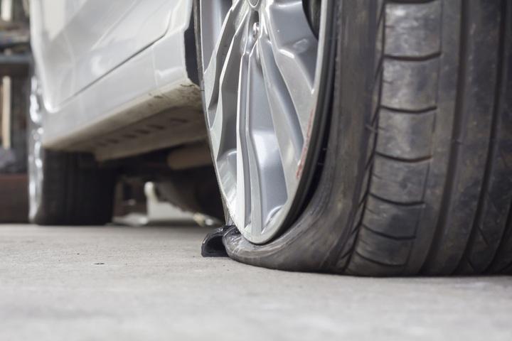 flat-tyre