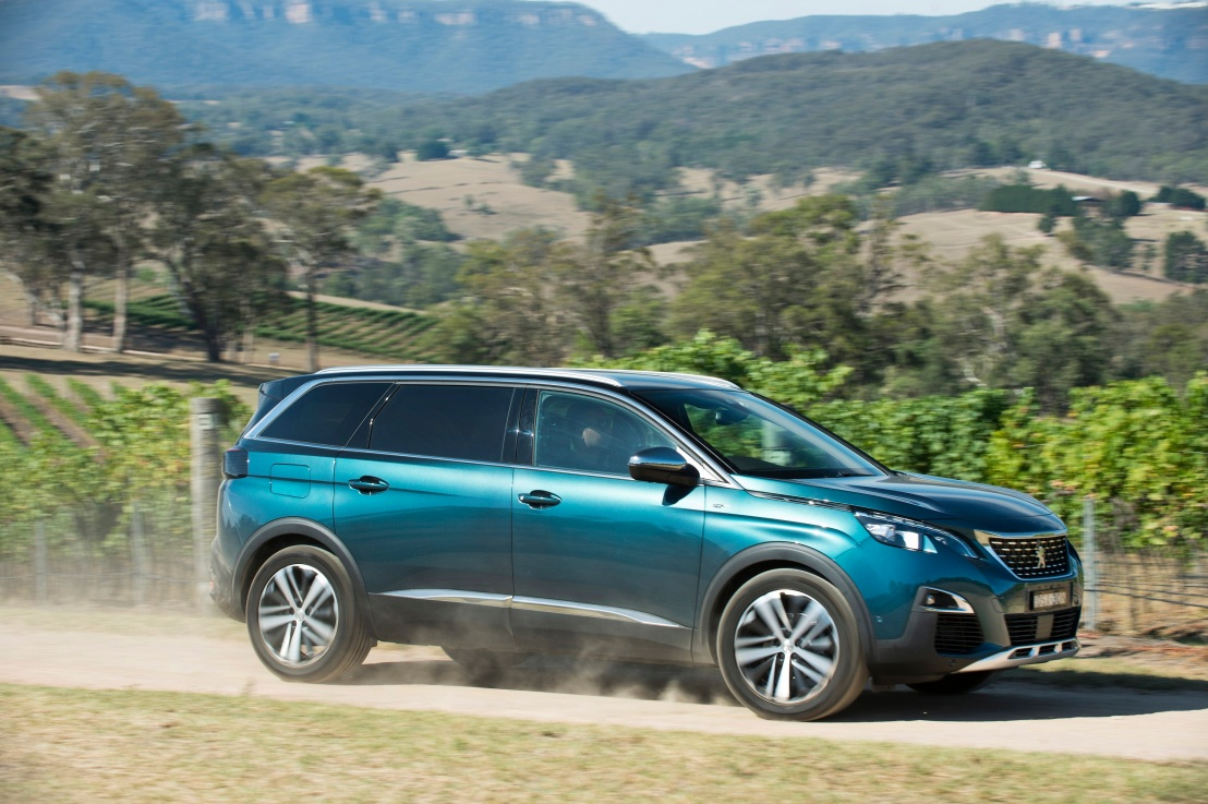 2018 Peugeot 5008 GT (Photo Narrative Post/Matthias Engesser)