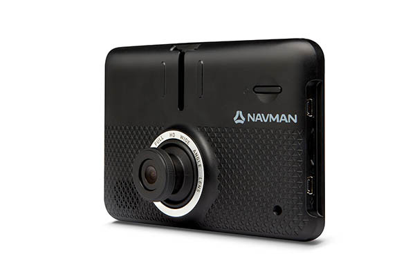 Navman Dashcam & Satellite Navigation Drive Duo review including crash footage