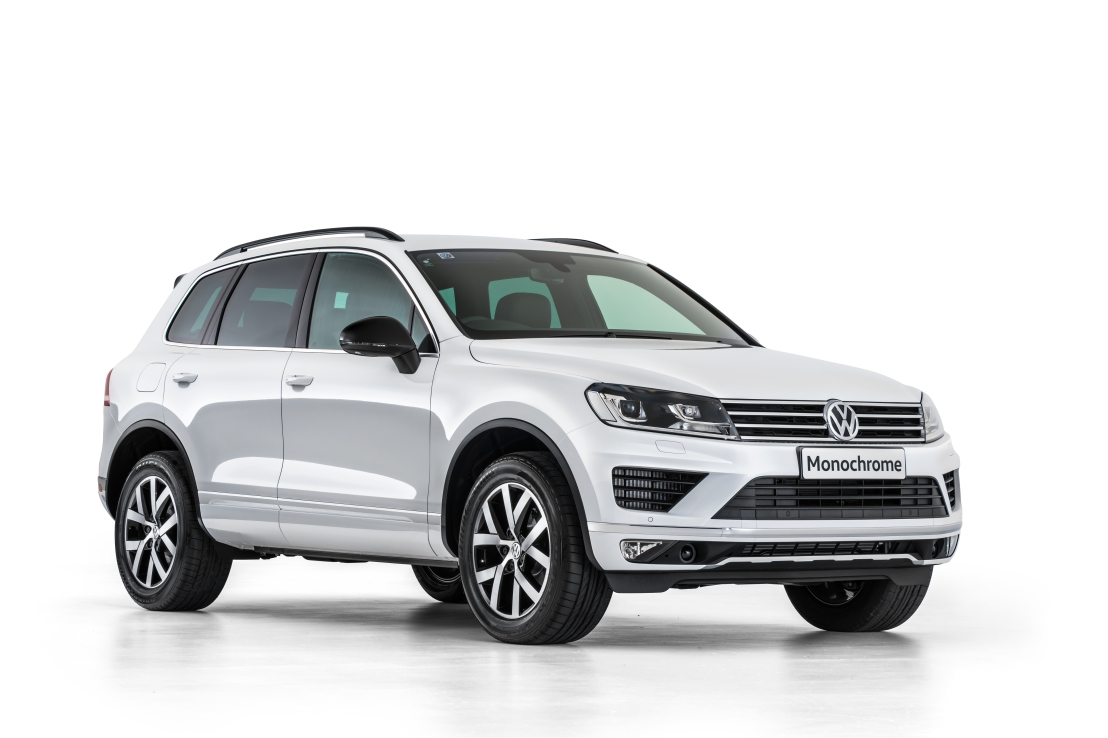2017 VW Touareg Monochrome VIDEO Review