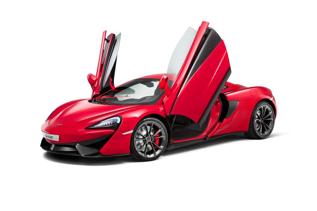 I drive McLaren's 540C and rateit