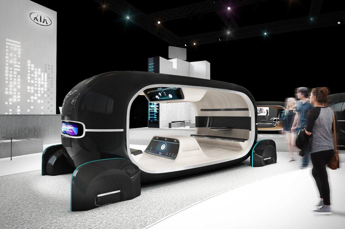 Kia's Technology at CES2019