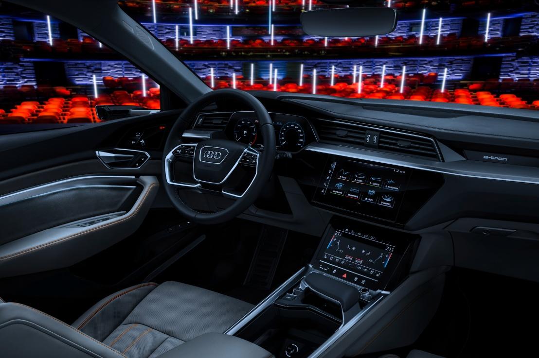 CES 2019 Audi's new EntertainmentSystem