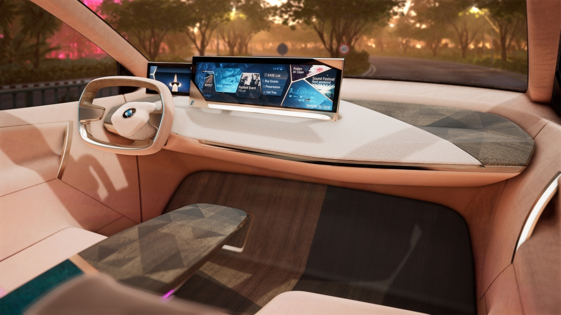 BMW shows new Tech CES 2019 Las Vegas