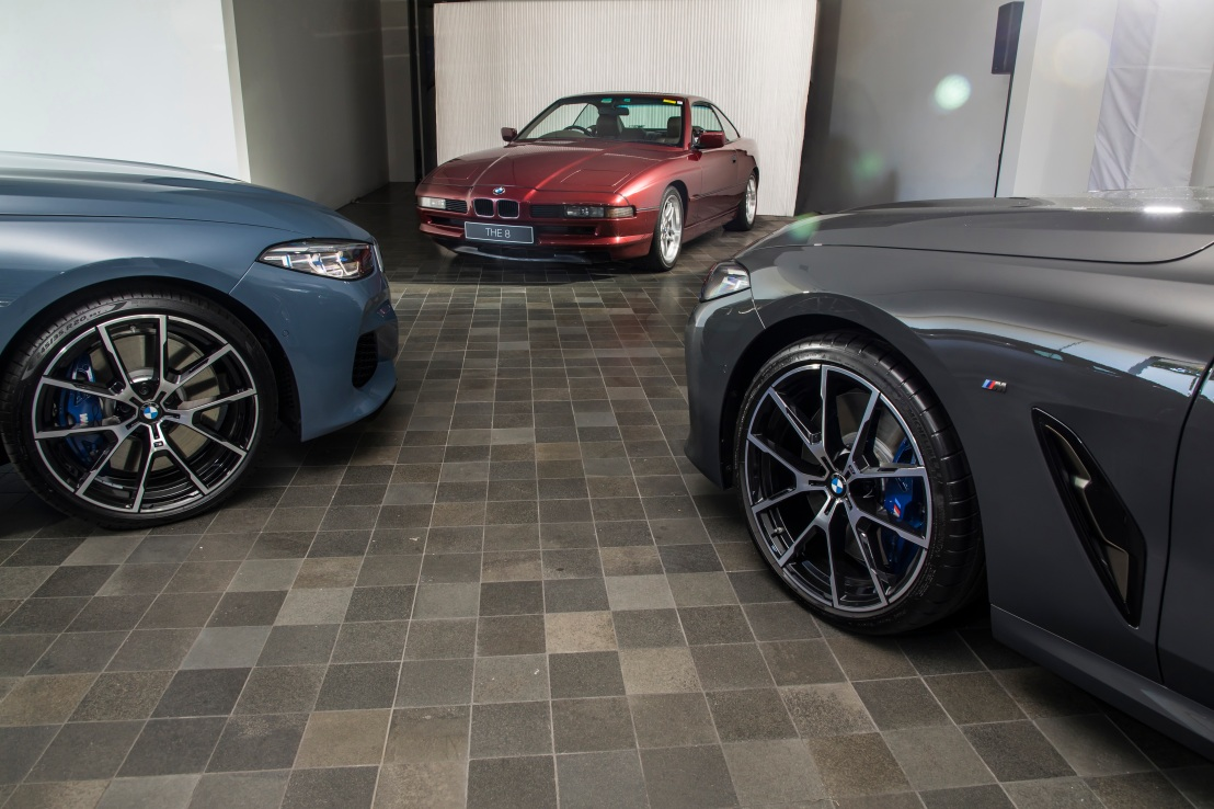 BMW M850i picks up the the original left off.
