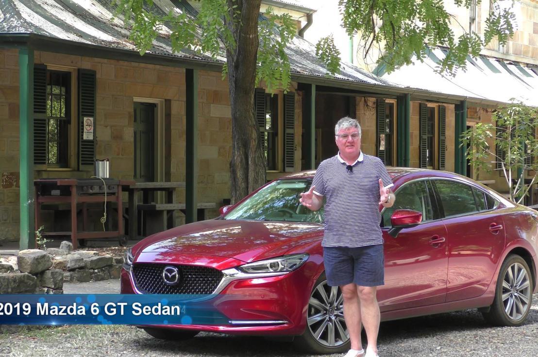 2019 Mazda 6 GT sedan VIDEOREVIEW